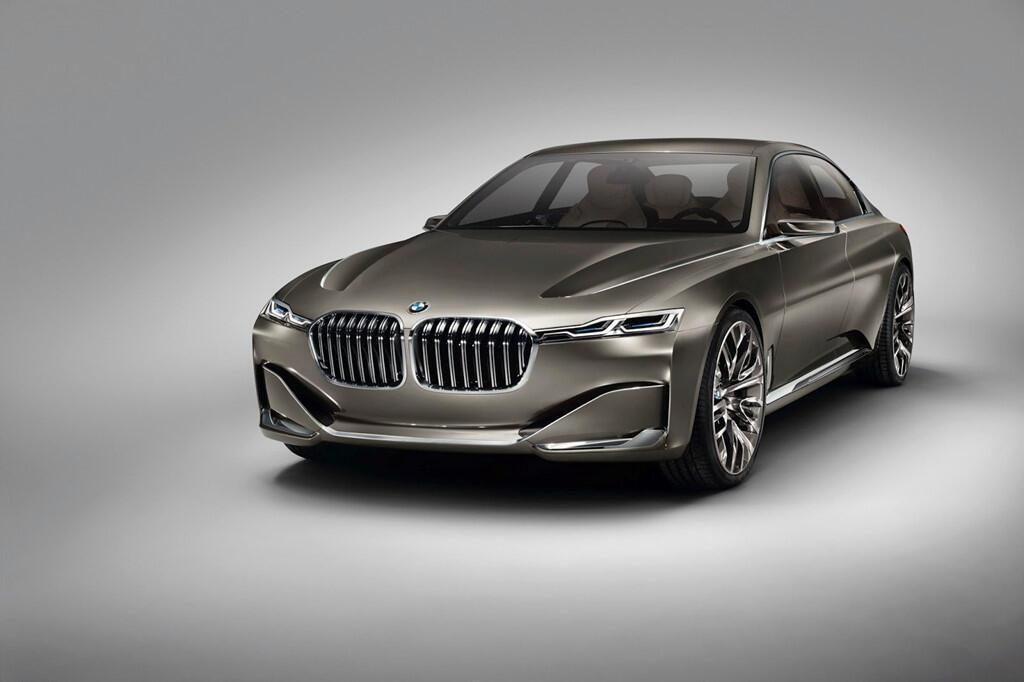 BM hé lộ dòng 9 Series, cạnh tranh với Mercedes-Maybach - Hình 1