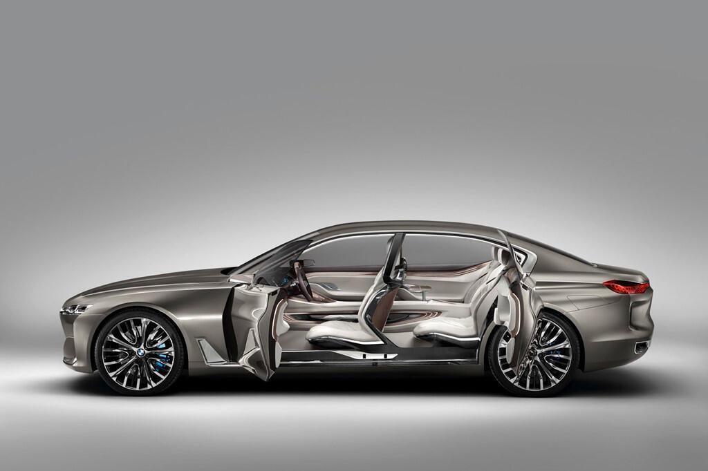 BM hé lộ dòng 9 Series, cạnh tranh với Mercedes-Maybach - Hình 4