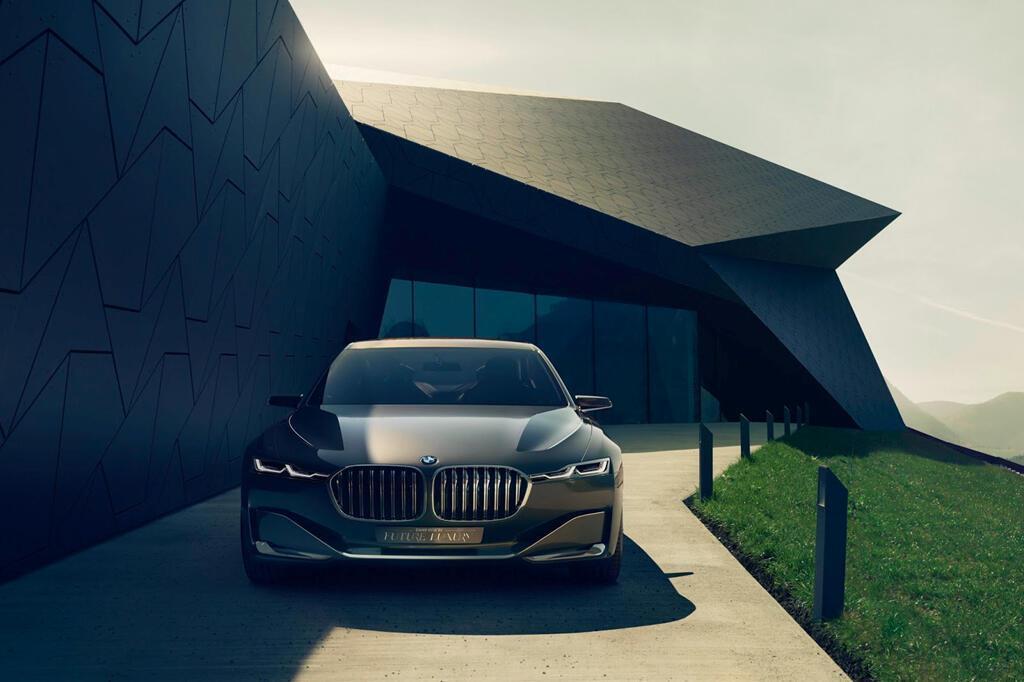 BM hé lộ dòng 9 Series, cạnh tranh với Mercedes-Maybach - Hình 6