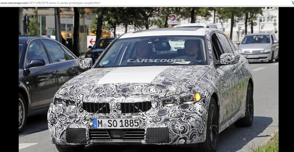 BMW 3-Series 2019 ngày càng gần hơn với phiên bản thương mại - Hình 1