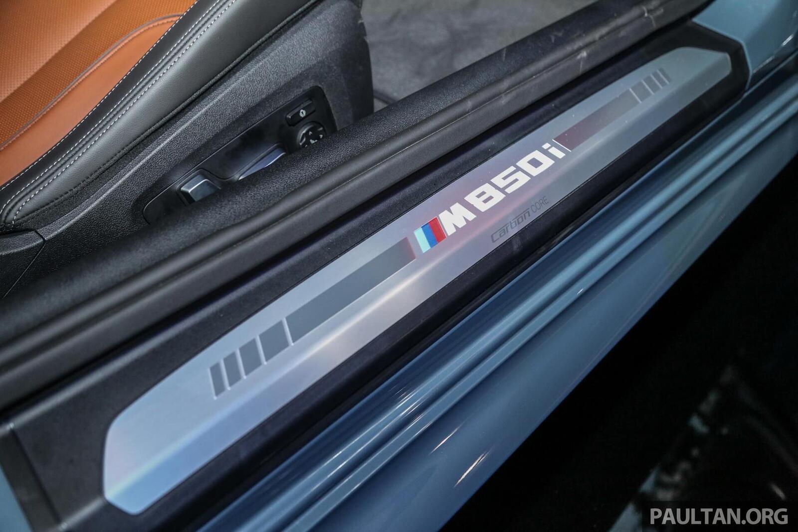 """BMW 8 Series đã """"cập bến"""" Malaysia: có giá 6,1 tỷ đồng; bỏ ngỏ khả năng về Việt Nam - Hình 23"""
