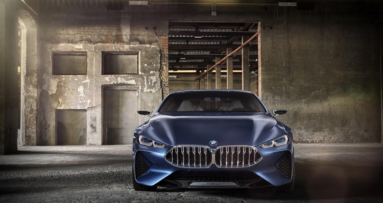 BMW 8-Series Concept: Sang trọng và đẳng cấp - Hình 1