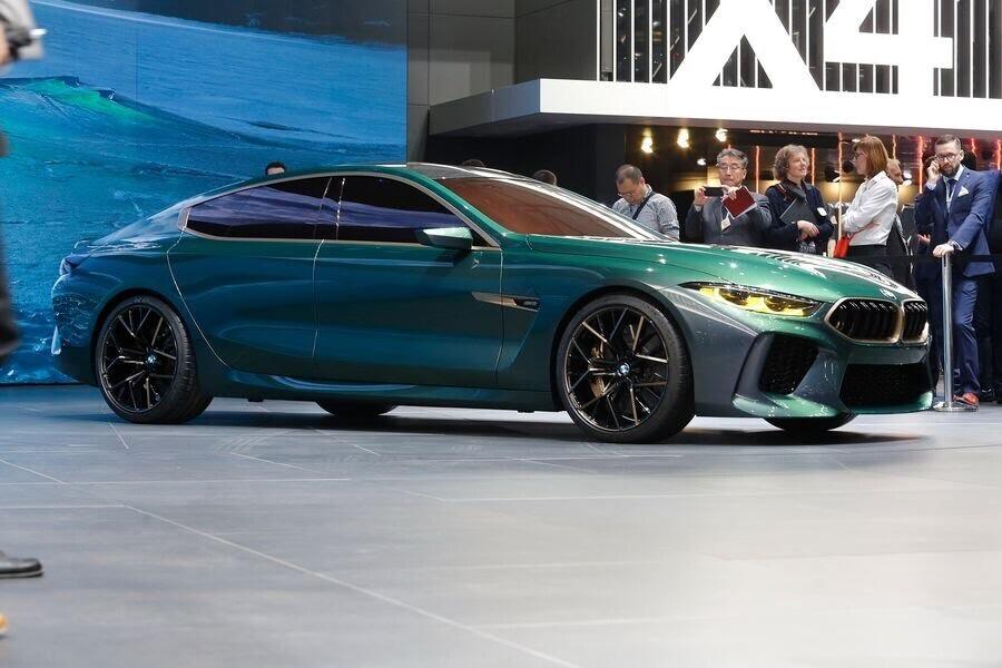BMW Concept M8 Gran Coupe sẽ sớm là câu trả lời chính thức dành cho Mercedes-AMG GT 4-Door - Hình 1