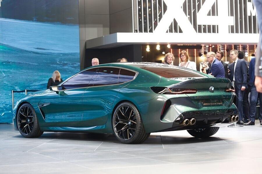 BMW Concept M8 Gran Coupe sẽ sớm là câu trả lời chính thức dành cho Mercedes-AMG GT 4-Door - Hình 2