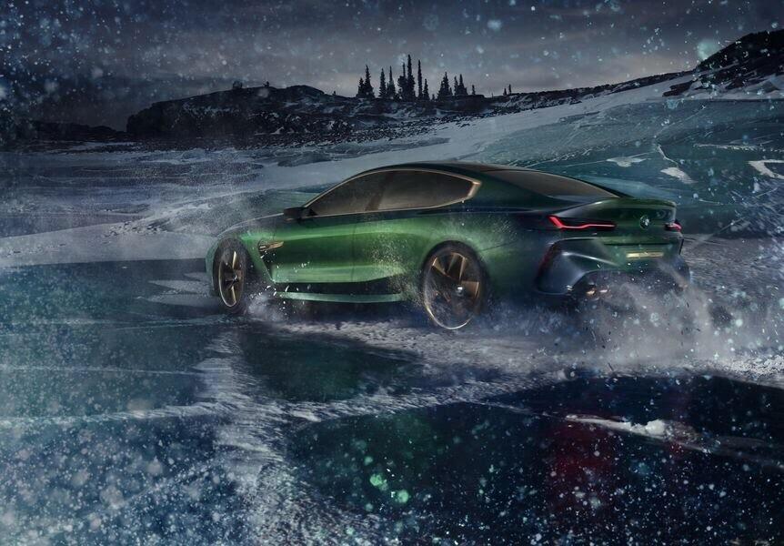 BMW Concept M8 Gran Coupe sẽ sớm là câu trả lời chính thức dành cho Mercedes-AMG GT 4-Door - Hình 3
