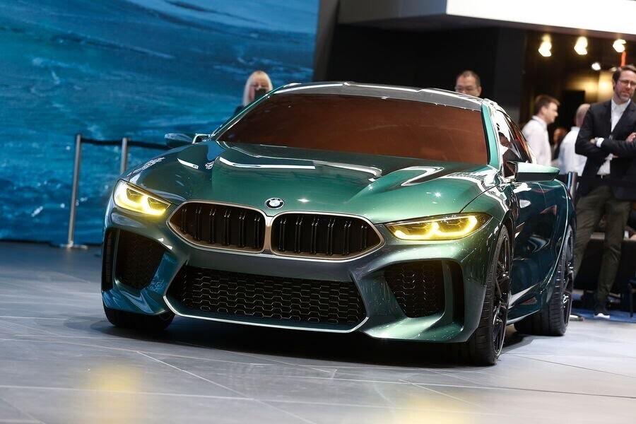 BMW Concept M8 Gran Coupe sẽ sớm là câu trả lời chính thức dành cho Mercedes-AMG GT 4-Door - Hình 4