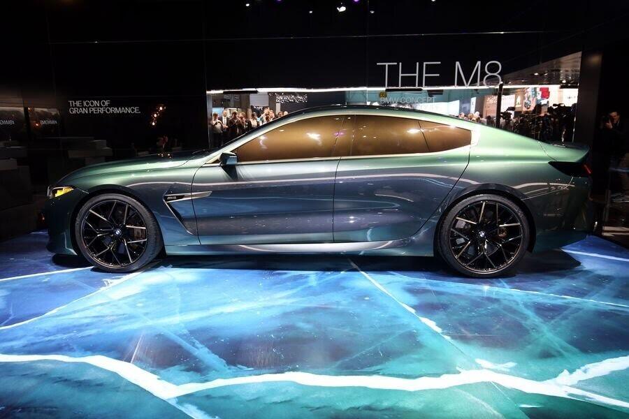 BMW Concept M8 Gran Coupe sẽ sớm là câu trả lời chính thức dành cho Mercedes-AMG GT 4-Door - Hình 5