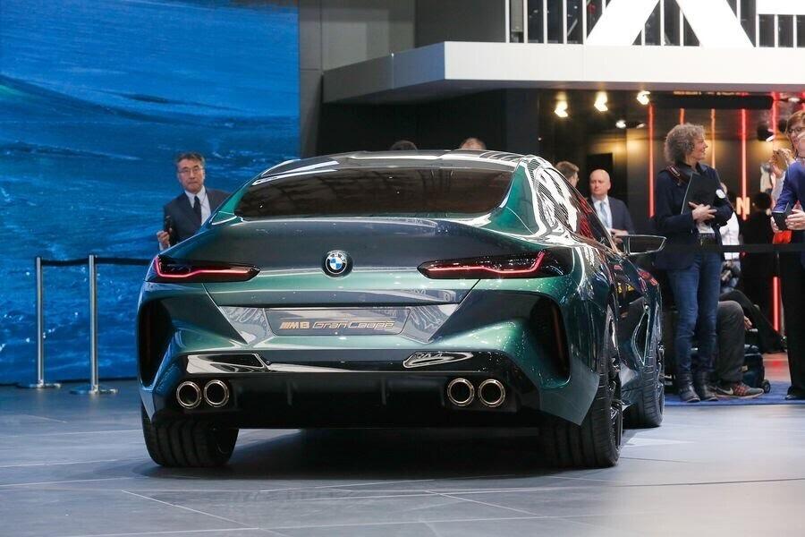 BMW Concept M8 Gran Coupe sẽ sớm là câu trả lời chính thức dành cho Mercedes-AMG GT 4-Door - Hình 6