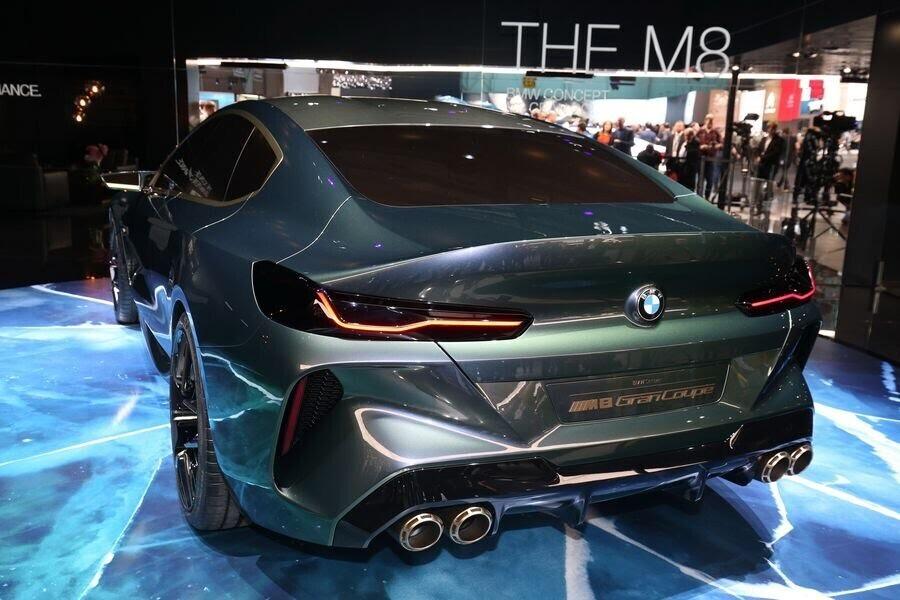 BMW Concept M8 Gran Coupe sẽ sớm là câu trả lời chính thức dành cho Mercedes-AMG GT 4-Door - Hình 7