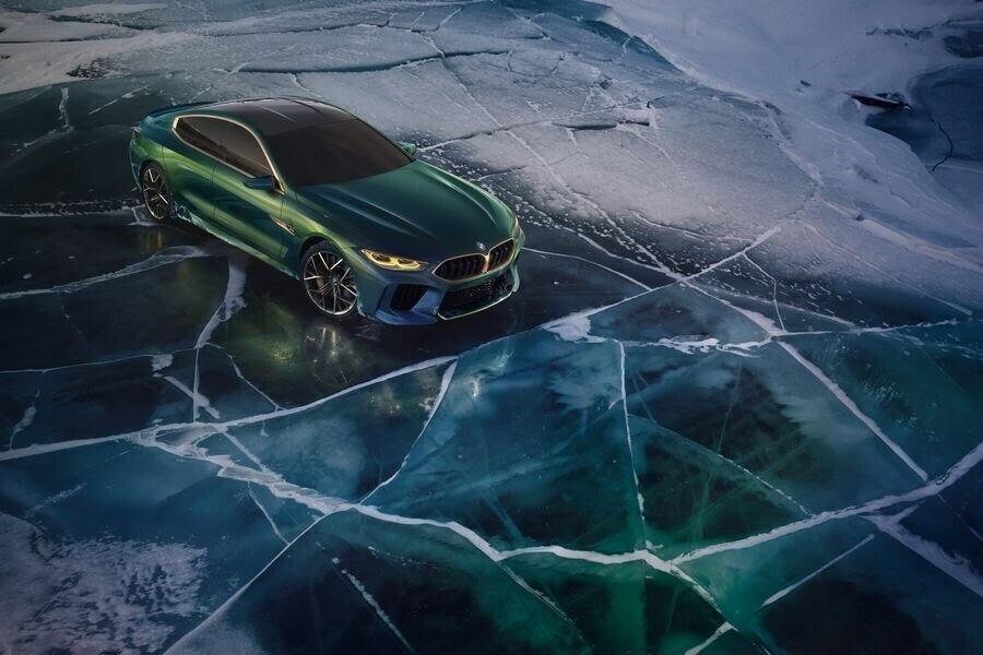BMW Concept M8 Gran Coupe sẽ sớm là câu trả lời chính thức dành cho Mercedes-AMG GT 4-Door - Hình 8