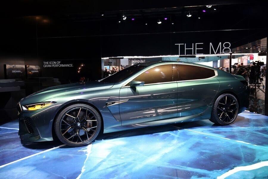 BMW Concept M8 Gran Coupe sẽ sớm là câu trả lời chính thức dành cho Mercedes-AMG GT 4-Door - Hình 9