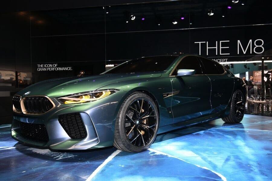 BMW Concept M8 Gran Coupe sẽ sớm là câu trả lời chính thức dành cho Mercedes-AMG GT 4-Door - Hình 10
