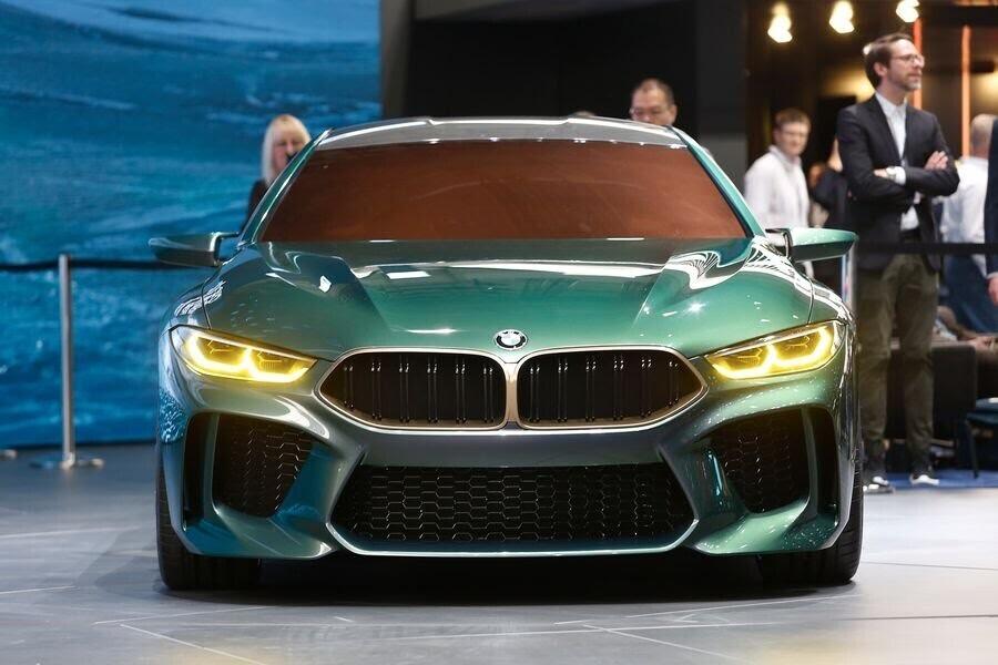 BMW Concept M8 Gran Coupe sẽ sớm là câu trả lời chính thức dành cho Mercedes-AMG GT 4-Door - Hình 11