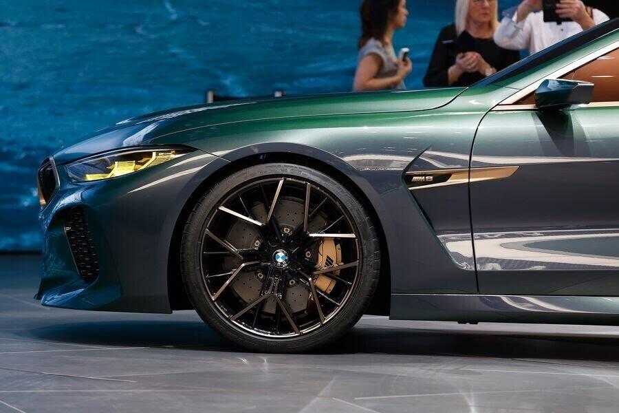BMW Concept M8 Gran Coupe sẽ sớm là câu trả lời chính thức dành cho Mercedes-AMG GT 4-Door - Hình 12