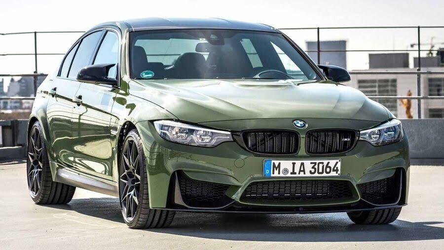 BMW M3 lạ lẫm với áo choàng Urban Green từ BMW Individual - Hình 2