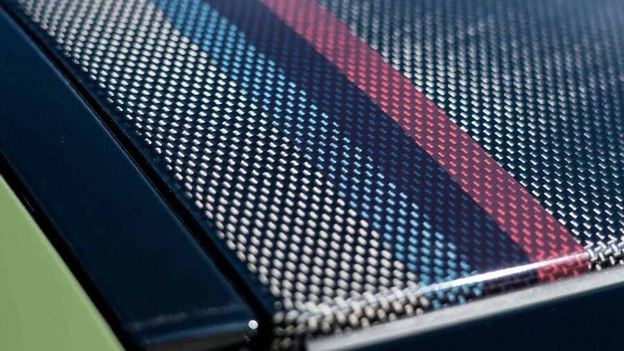 BMW M3 lạ lẫm với áo choàng Urban Green từ BMW Individual - Hình 3