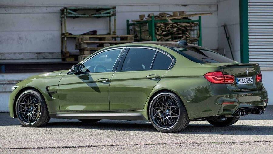 BMW M3 lạ lẫm với áo choàng Urban Green từ BMW Individual - Hình 5