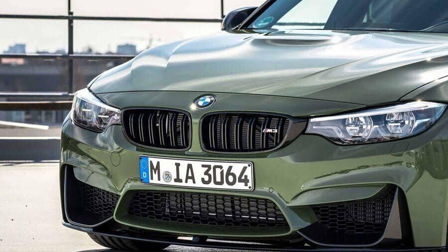 BMW M3 lạ lẫm với áo choàng Urban Green từ BMW Individual - Hình 6