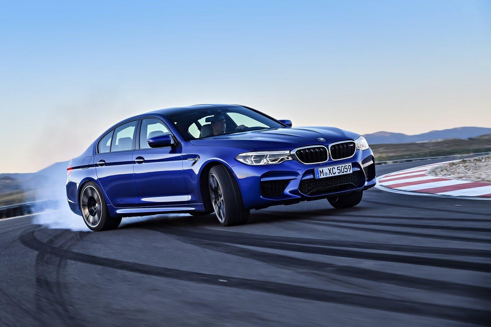 BMW M5 2018 chính thức trình làng với 600 mã lực - Hình 1