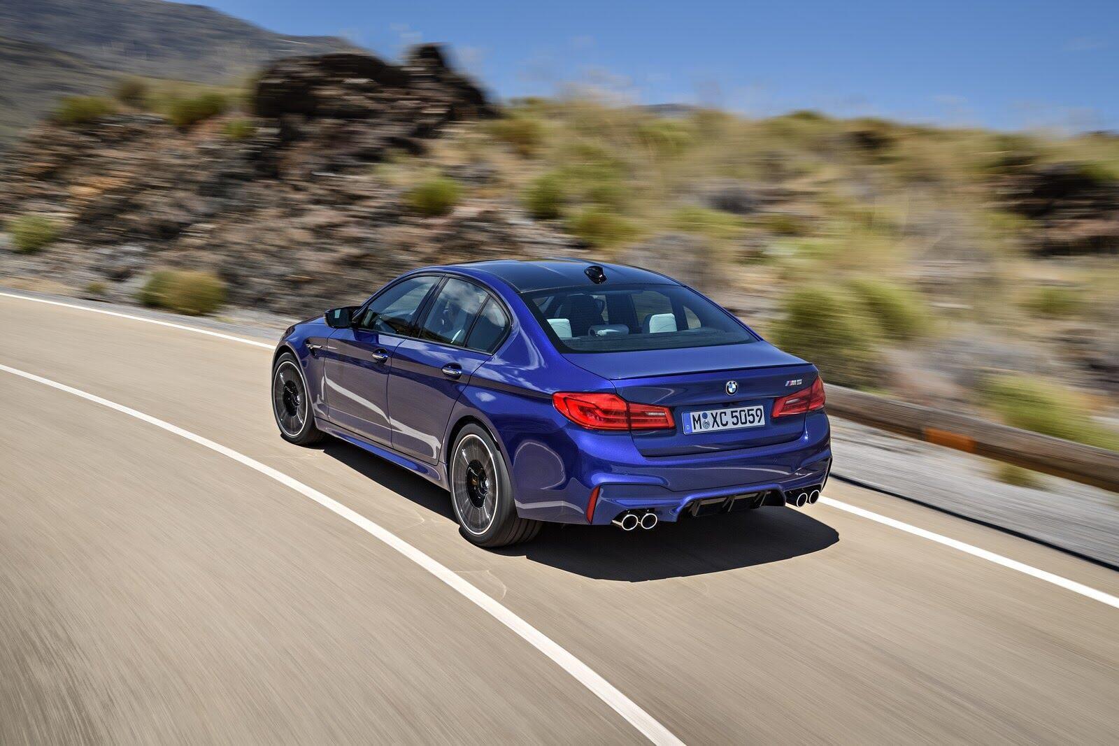 BMW M5 2018 chính thức trình làng với 600 mã lực - Hình 5