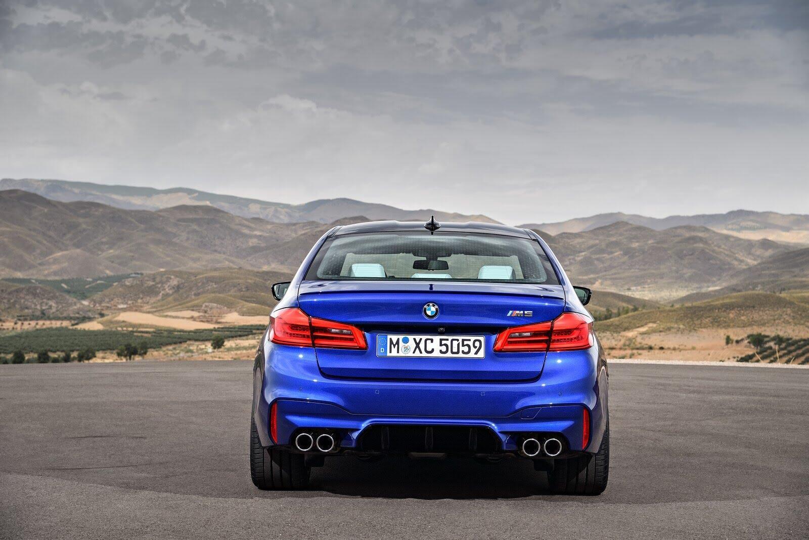 BMW M5 2018 chính thức trình làng với 600 mã lực - Hình 7