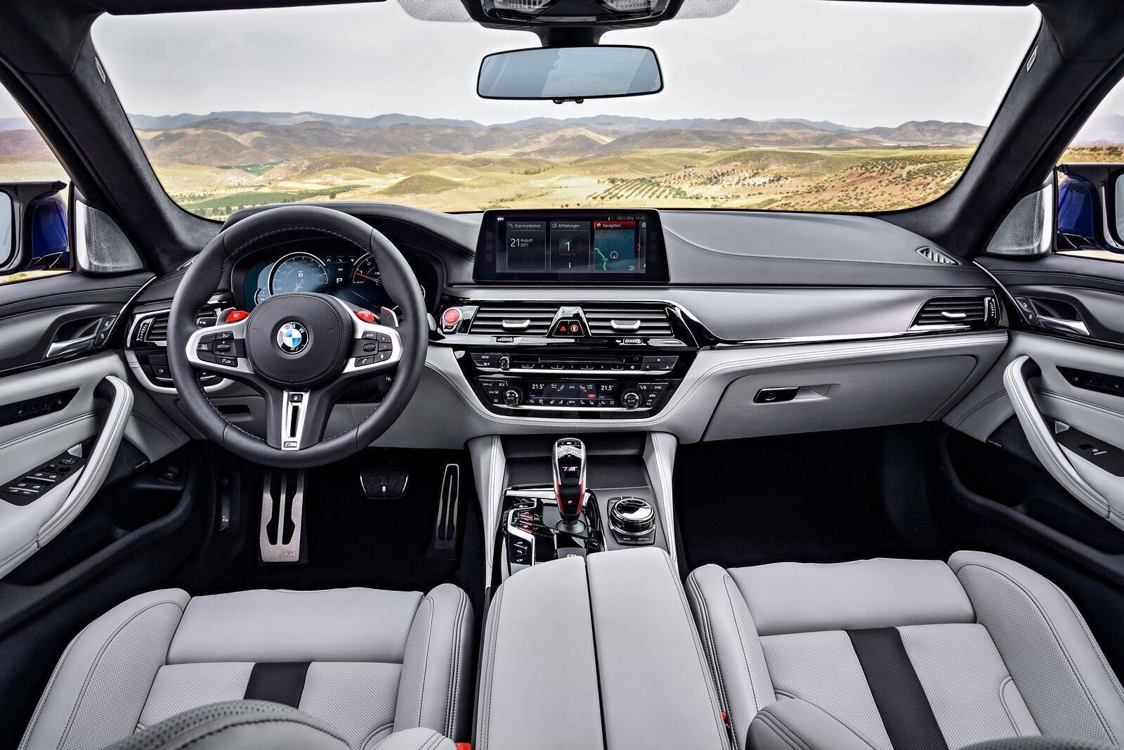 BMW M5 2018 chính thức trình làng với 600 mã lực - Hình 9