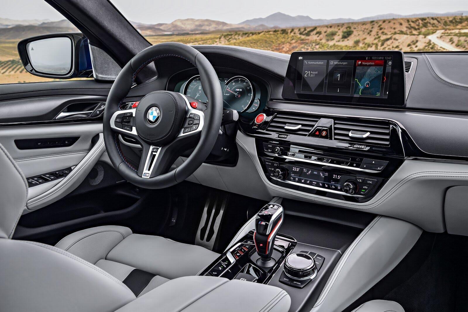 BMW M5 2018 chính thức trình làng với 600 mã lực - Hình 10