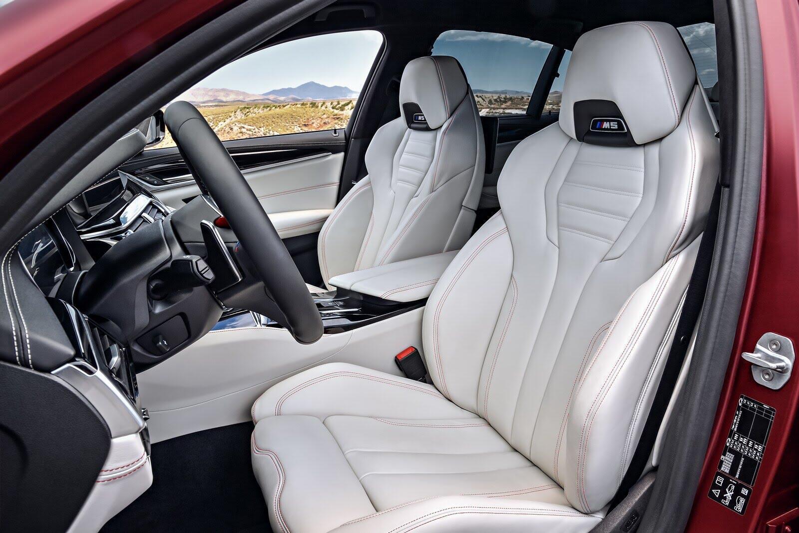 BMW M5 2018 chính thức trình làng với 600 mã lực - Hình 13