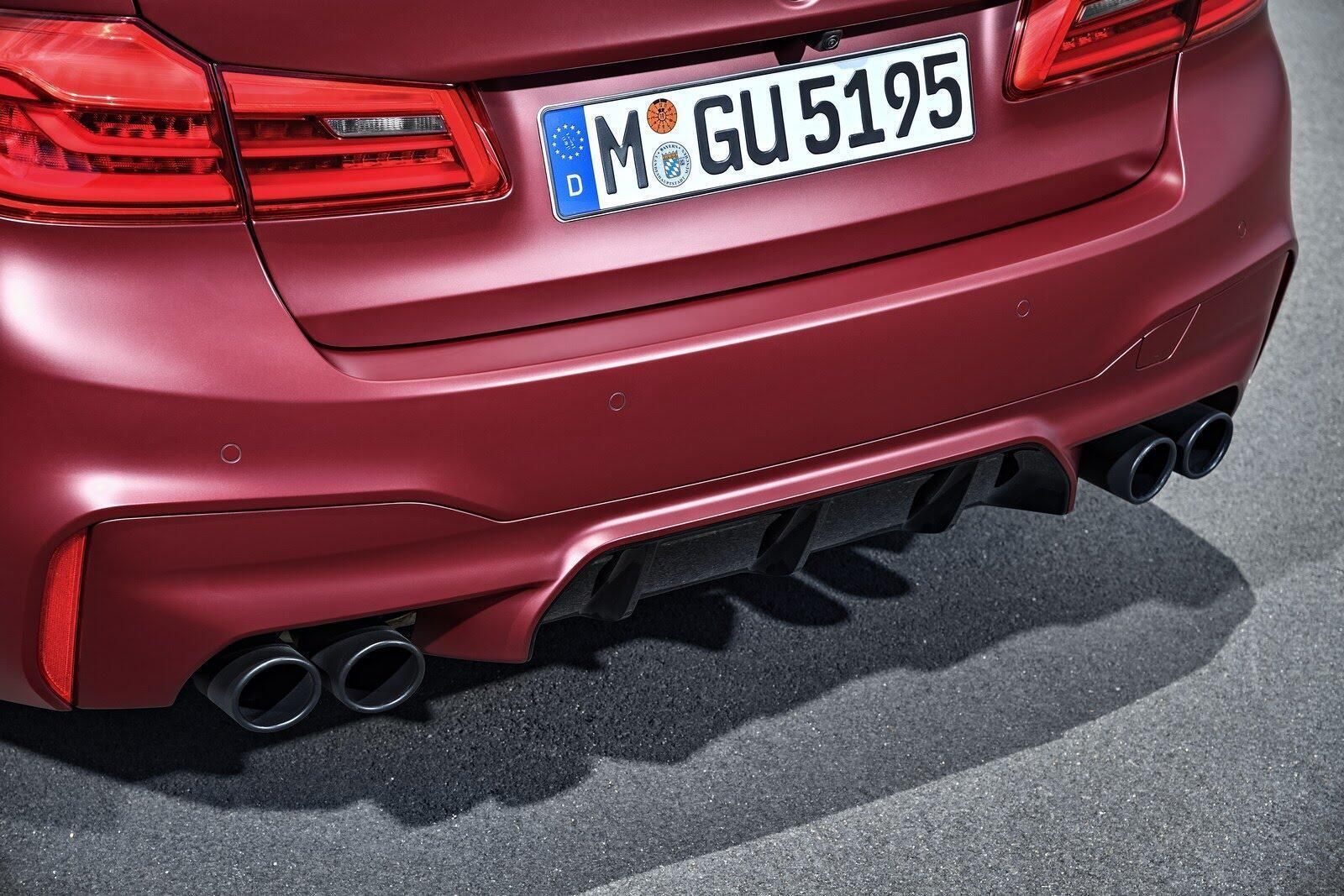 BMW M5 2018 chính thức trình làng với 600 mã lực - Hình 37