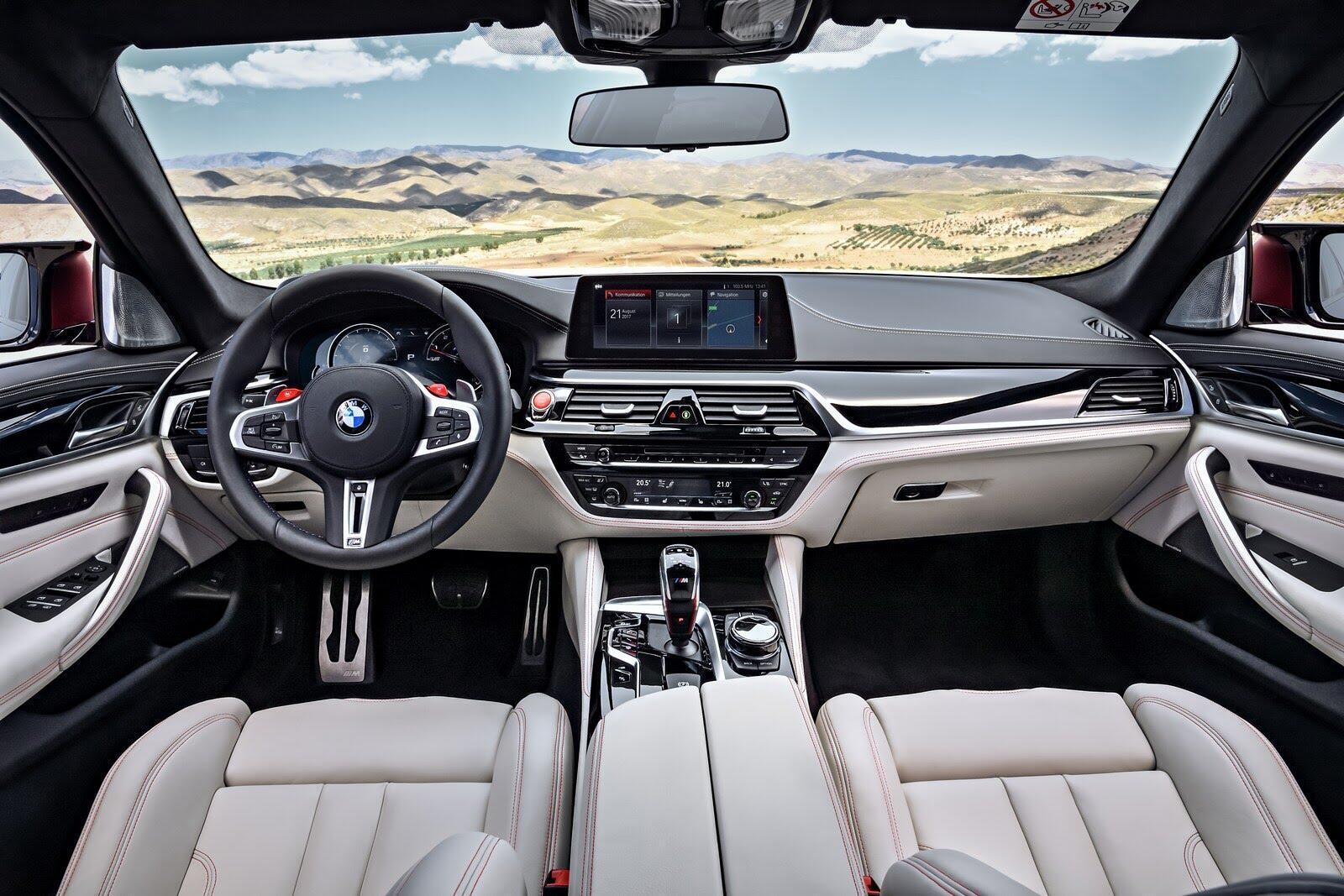 BMW M5 2018 chính thức trình làng với 600 mã lực - Hình 39