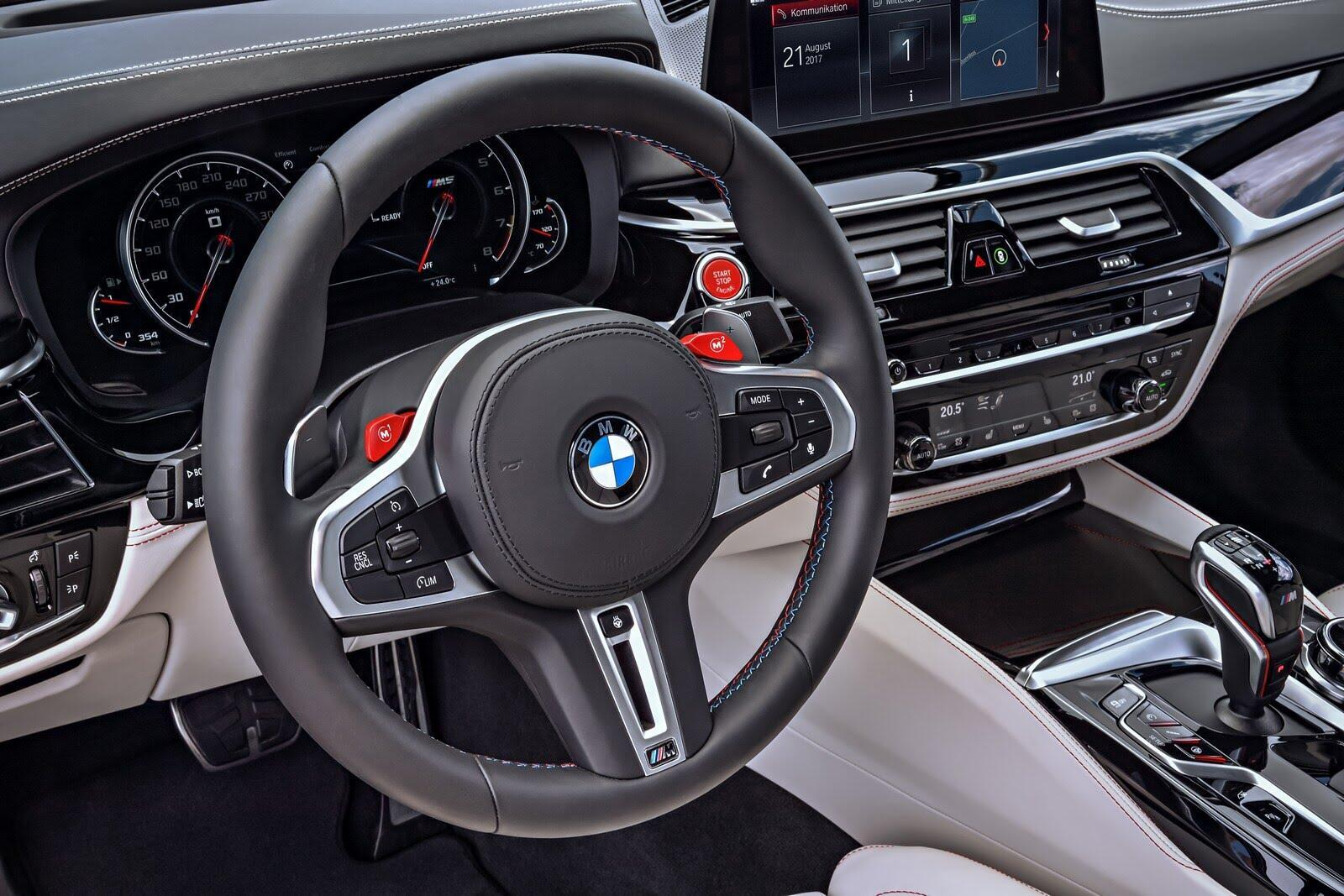 BMW M5 2018 chính thức trình làng với 600 mã lực - Hình 40