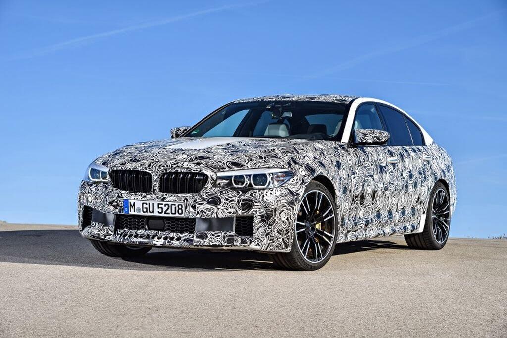 BMW M5 hoàn toàn mới - Hình 1