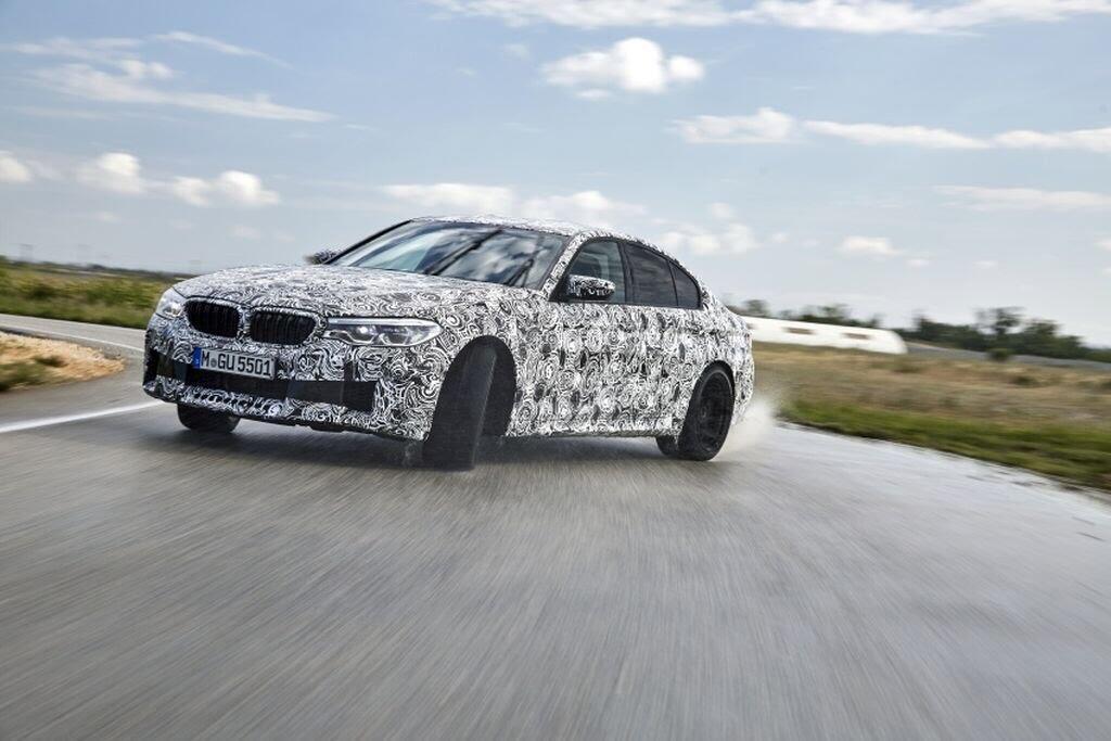 BMW M5 hoàn toàn mới - Hình 2