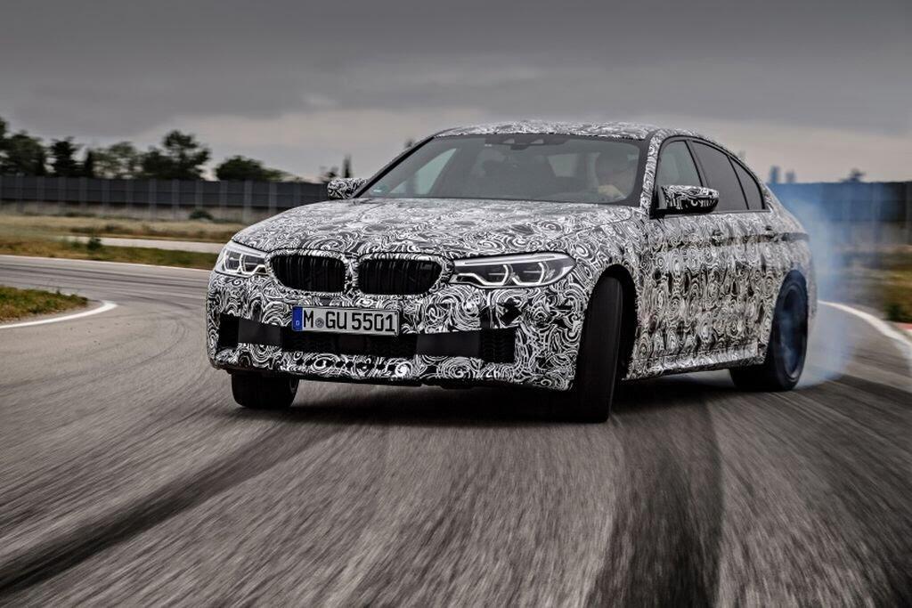 BMW M5 hoàn toàn mới - Hình 3
