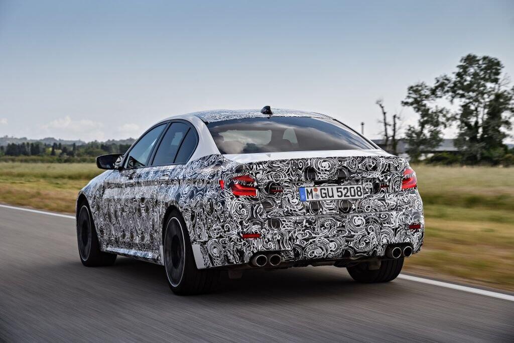 BMW M5 hoàn toàn mới - Hình 4