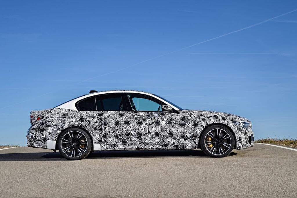 BMW M5 hoàn toàn mới - Hình 5