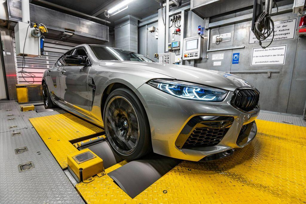 BMW M8 Gran Coupe 2020 sản xuất kịp thời sẵn sàng ra mắt tại LA