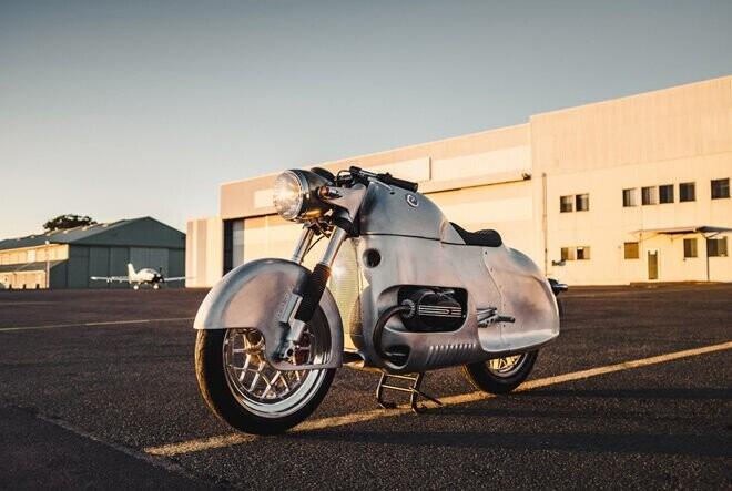 """BMW R100 RSAero: """"Phi cơ mặt đất"""" độc đáo vô tiền khoáng hậu - Hình 1"""