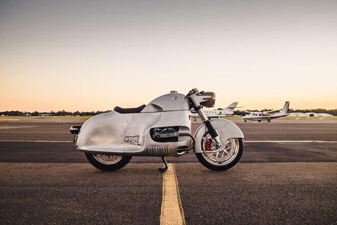"""BMW R100 RSAero: """"Phi cơ mặt đất"""" độc đáo vô tiền khoáng hậu - Hình 3"""