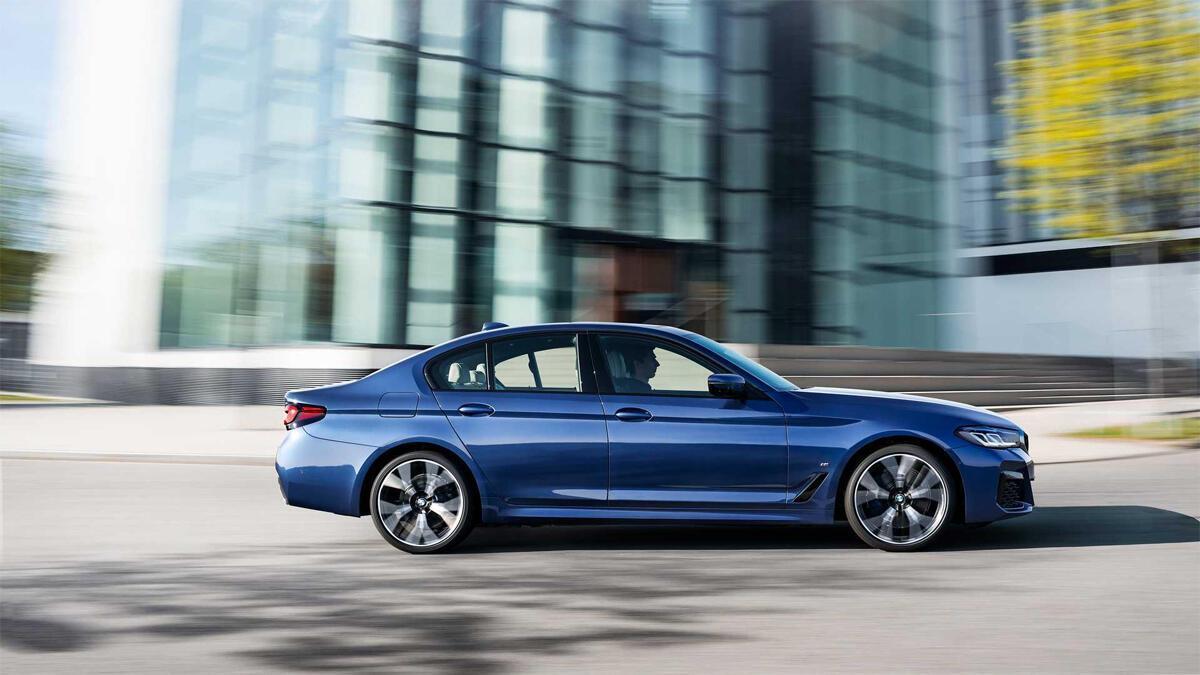 Ngoại thất BMW Series 5 - Hình 2