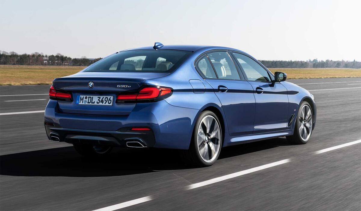 Ngoại thất BMW Series 5 - Hình 3