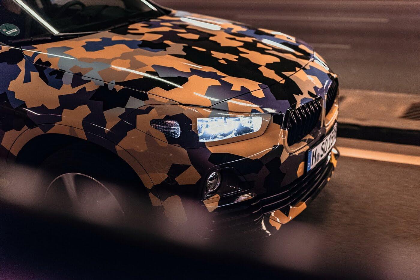"""BMW X2 2018 """"lộ"""" ảnh thực tế trên đường - Hình 6"""