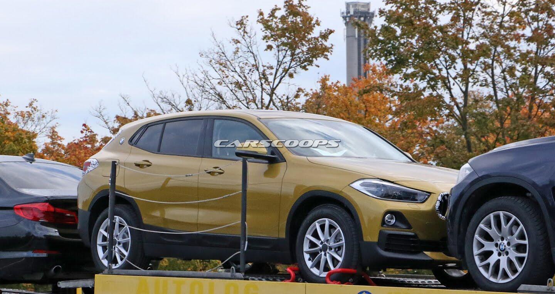 """BMW X2 2018 lộ diện """"rõ nét"""" không che đậy trên đường phố - Hình 1"""