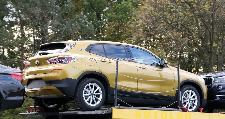 """BMW X2 2018 lộ diện """"rõ nét"""" không che đậy trên đường phố - Hình 3"""