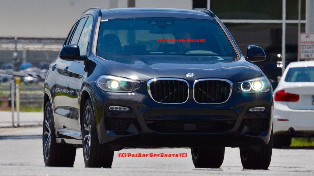 BMW X3 2018 bị bắt gặp - Hình 1