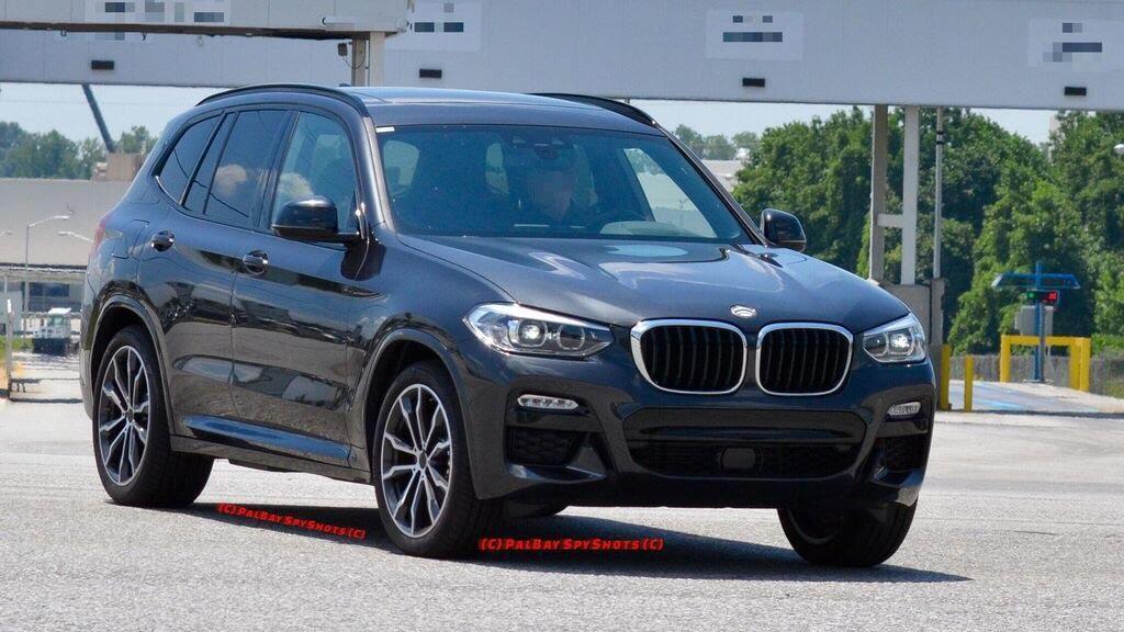 BMW X3 2018 bị bắt gặp - Hình 2