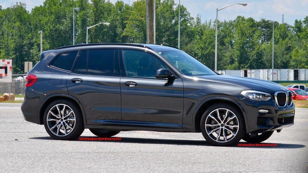 BMW X3 2018 bị bắt gặp - Hình 3