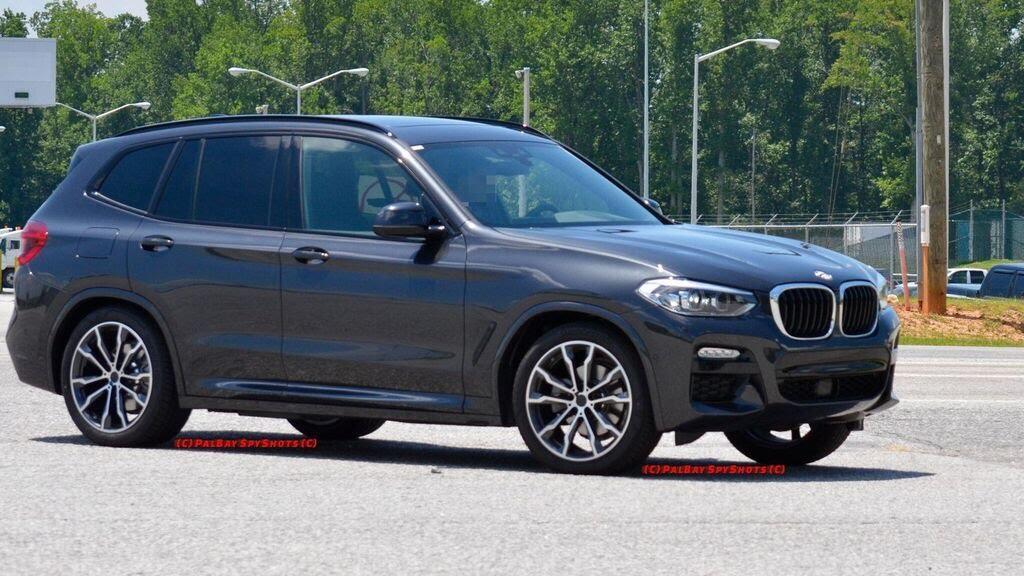 BMW X3 2018 bị bắt gặp - Hình 4