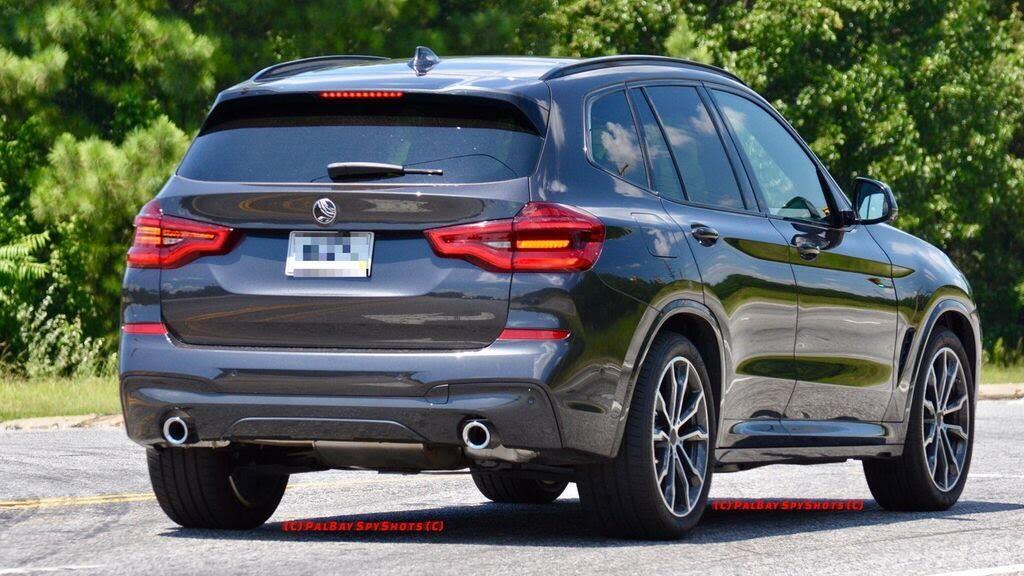 BMW X3 2018 bị bắt gặp - Hình 5