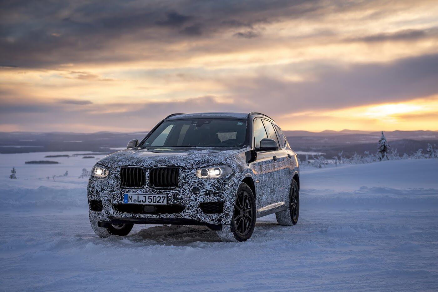 BMW X3 2018 chuẩn bị trình làng - Hình 1